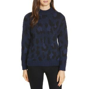 NWT Kate Spade Wild Ones Leopard Sweater Large